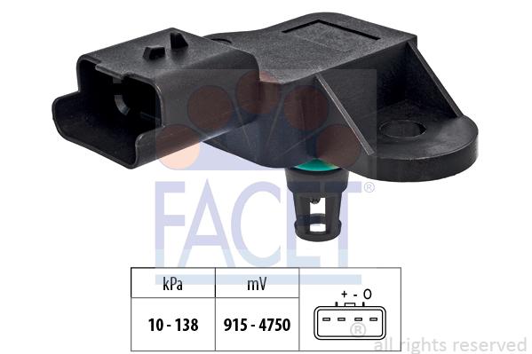 Capteur de pression FACET 10.3320 (X1)