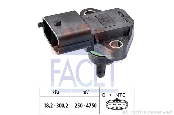Capteur de pression FACET 10.3344 (X1)