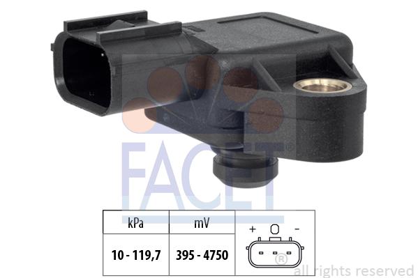 Capteur de pression FACET 10.3383 (X1)