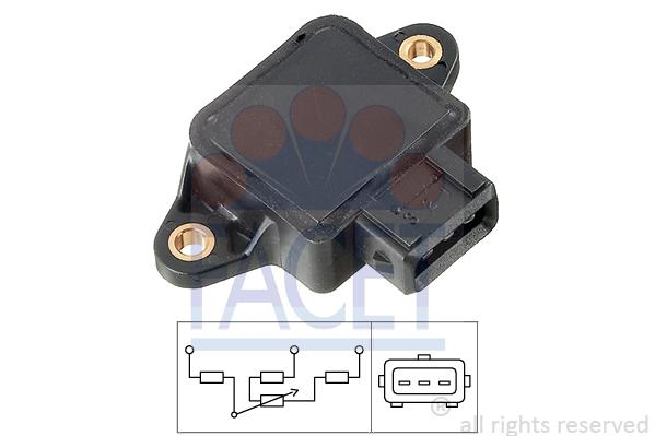 Capteur de position FACET 10.5002 (X1)