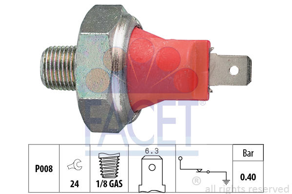 Era Pression D/'huile Interrupteur pour lubrification 330700