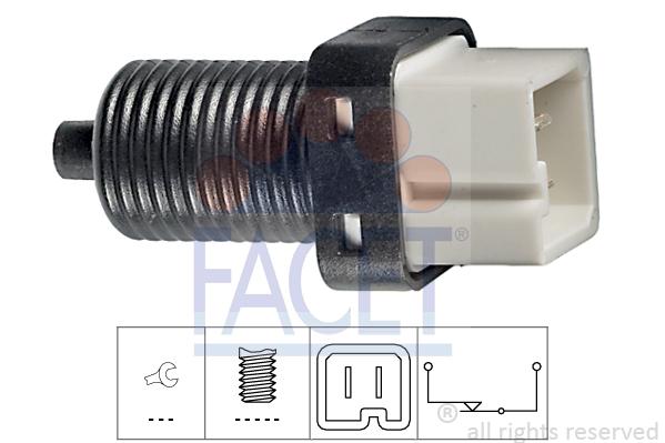 Contacteur de feu stop FACET 7.1091 (X1)