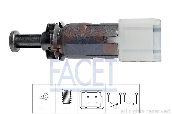 Contacteur de feu stop FACET 7.1149 (X1)