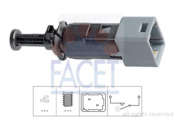 Contacteur de feu stop FACET 7.1150 (X1)