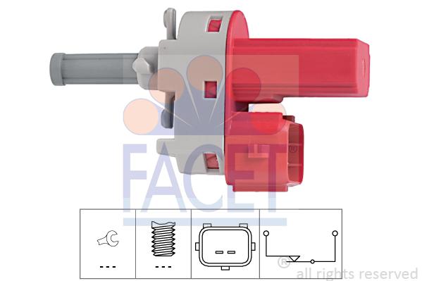 Commande, embrayage (régulateur de vitesse) FACET 7.1171 (X1)