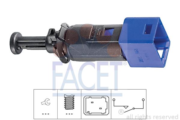 Contacteur de feu stop FACET 7.1195 (X1)