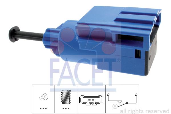 Commande, embrayage (régulateur de vitesse) FACET 7.1220 (X1)