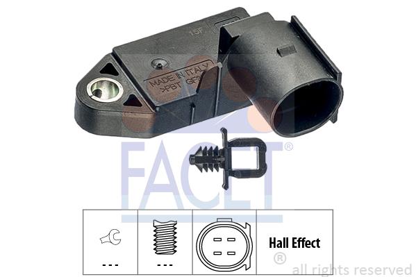 Contacteur de feu stop FACET 7.1232 (X1)
