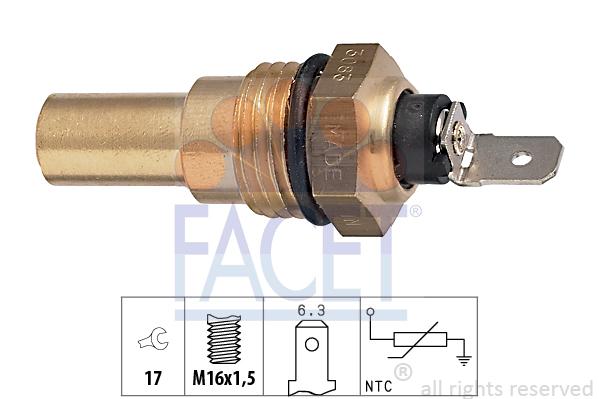 Moteur FACET 7.3083 (X1)