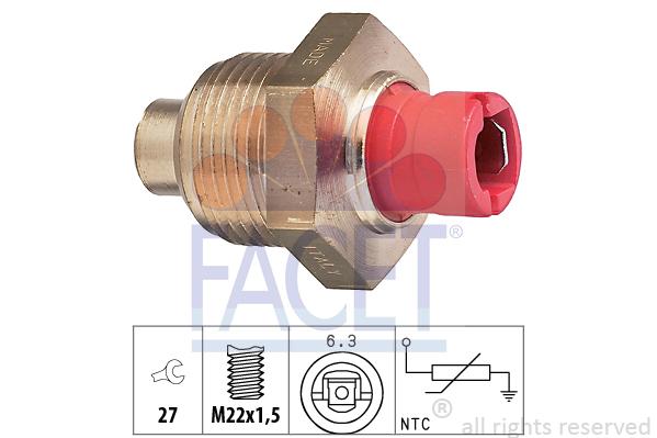 Moteur FACET 7.3087 (X1)