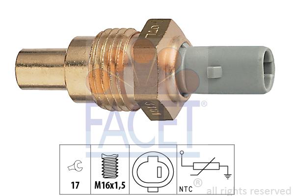 Moteur FACET 7.3161 (X1)