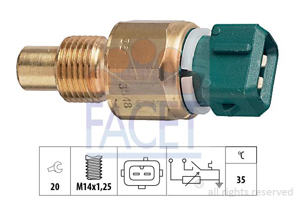 Moteur FACET 7.3548 (X1)