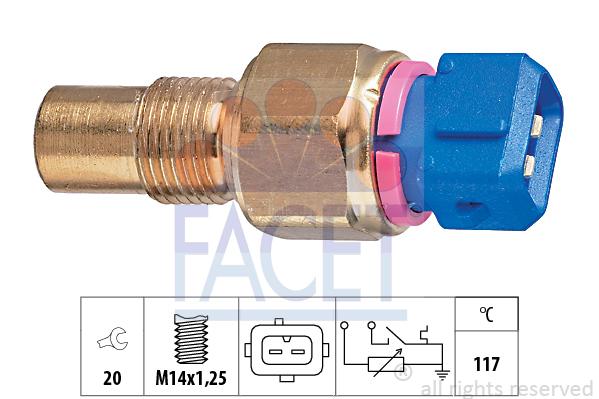 Moteur FACET 7.3553 (X1)
