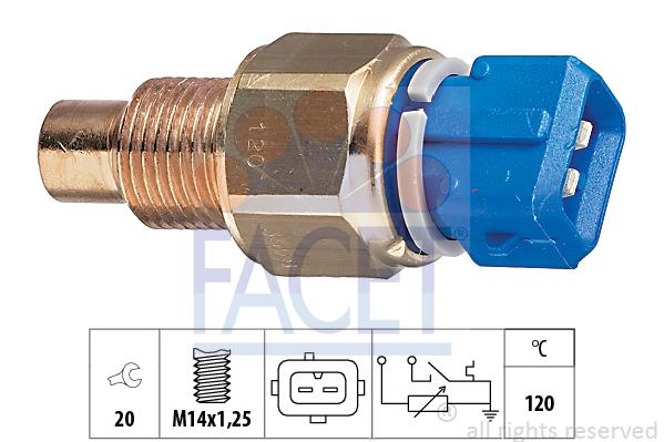 Moteur FACET 7.3558 (X1)
