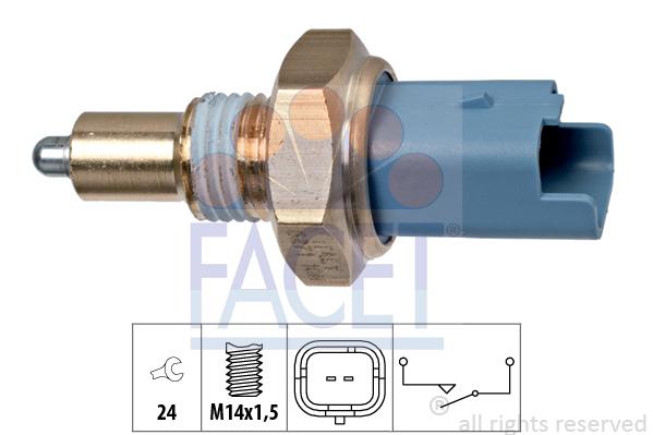 Contacteur de feu de recul FACET 7.6271 (X1)