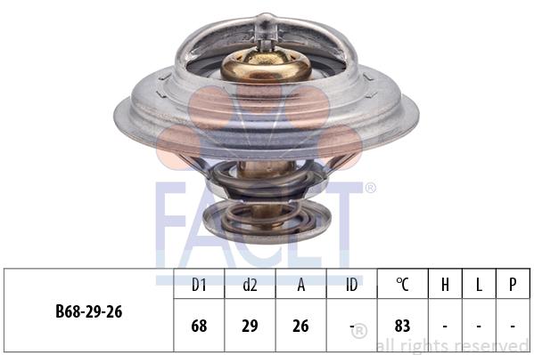Thermostat/calorstat FACET 7.8377S (X1)