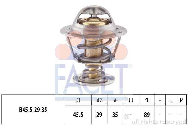 Thermostat/calorstat FACET 7.8389S (X1)