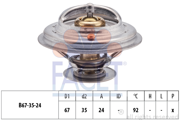 Thermostat/calorstat FACET 7.8401S (X1)