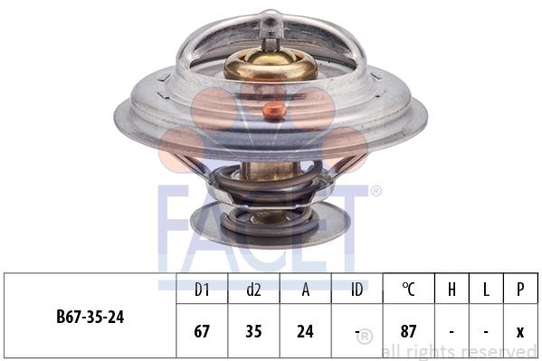 Thermostat/calorstat FACET 7.8410S (X1)
