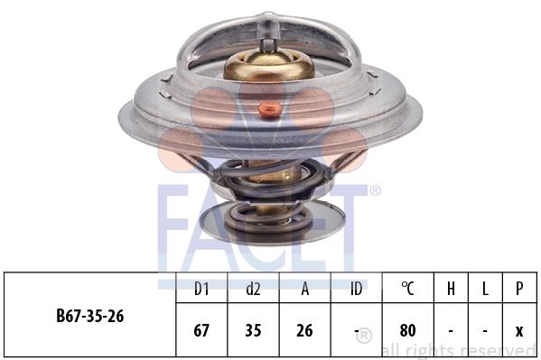 Thermostat/calorstat FACET 7.8544S (X1)