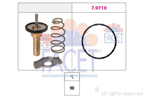 Thermostat/calorstat FACET 7.8774 (X1)