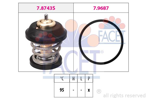 Thermostat/calorstat FACET 7.8799 (X1)