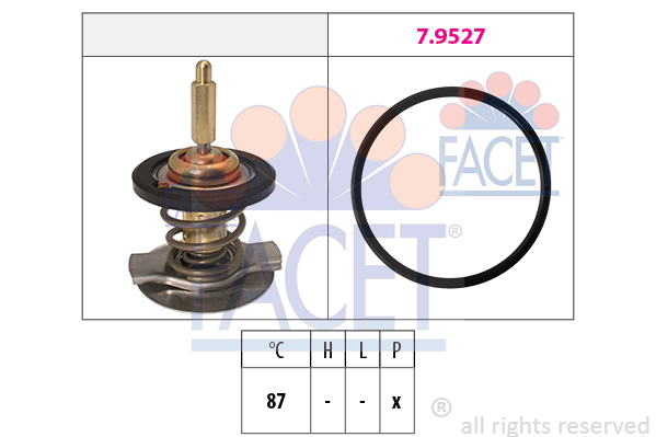 Thermostat/calorstat FACET 7.8807 (X1)