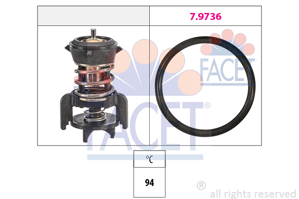 Thermostat/calorstat FACET 7.8933 (X1)