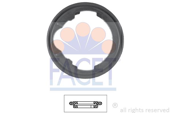 Joint de boitier de thermostat FACET 7.9548 (X1)