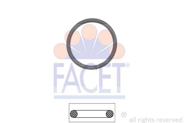 Joint de boitier de thermostat FACET 7.9629 (X1)