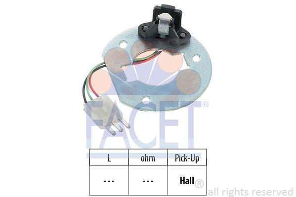 Capteur de regime FACET 8.4702 (X1)