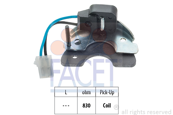 Capteur de regime FACET 8.4977/1 (X1)