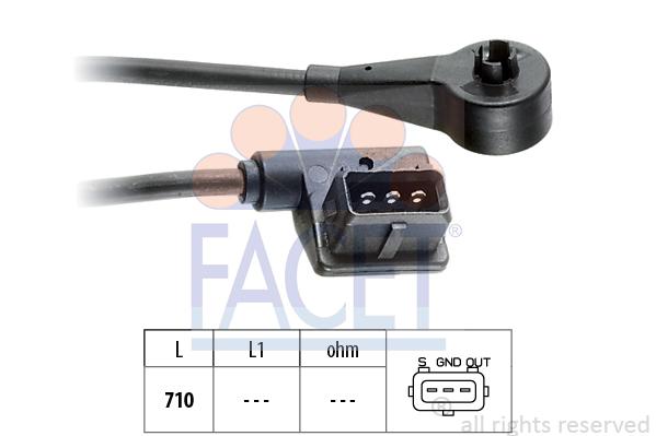 Capteur de regime FACET 9.0098 (X1)
