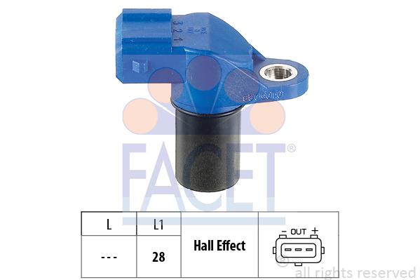 Capteurs/calculateurs/sondes FACET 9.0105 (X1)