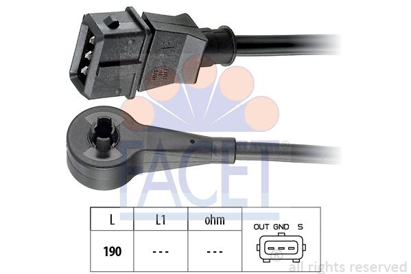 Capteur d'angle FACET 9.0184 (X1)