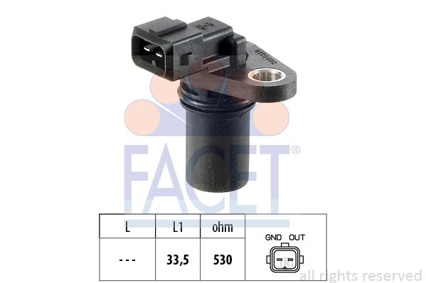 Capteurs/calculateurs/sondes FACET 9.0189 (X1)