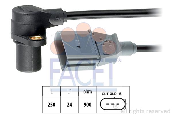 Capteur d'angle FACET 9.0254 (X1)