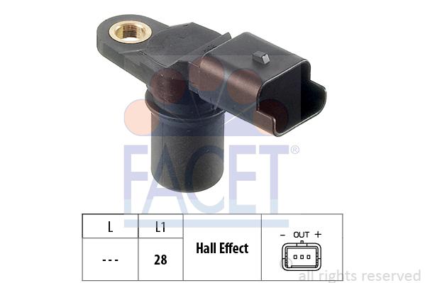 Capteur de position FACET 9.0348 (X1)