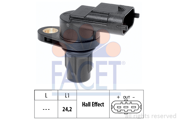 Capteurs/calculateurs/sondes FACET 9.0361 (X1)