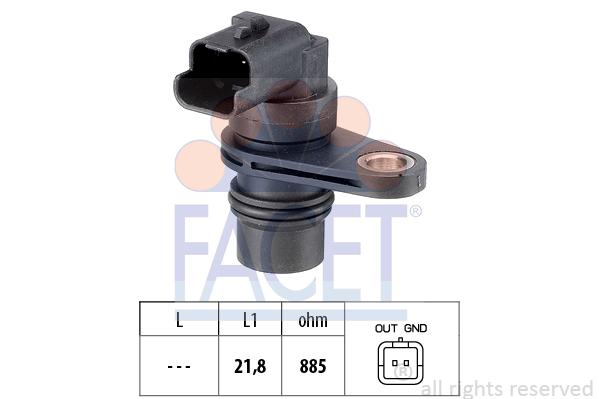 Capteur de regime FACET 9.0487 (X1)
