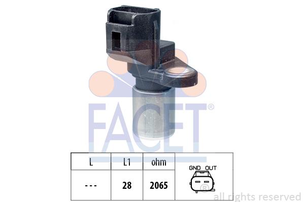 Capteur d'angle FACET 9.0490 (X1)