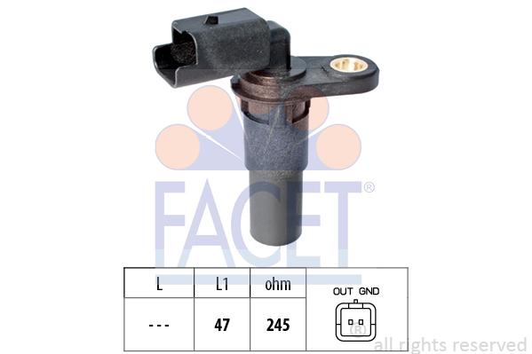 Capteur d'angle FACET 9.0536 (X1)
