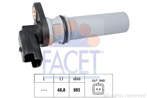 Capteurs/calculateurs/sondes FACET 9.0537 (X1)