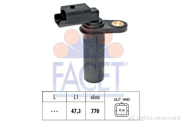 Capteur d'angle FACET 9.0538 (X1)