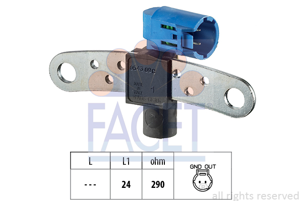 Capteur d'angle FACET 9.0543 (X1)