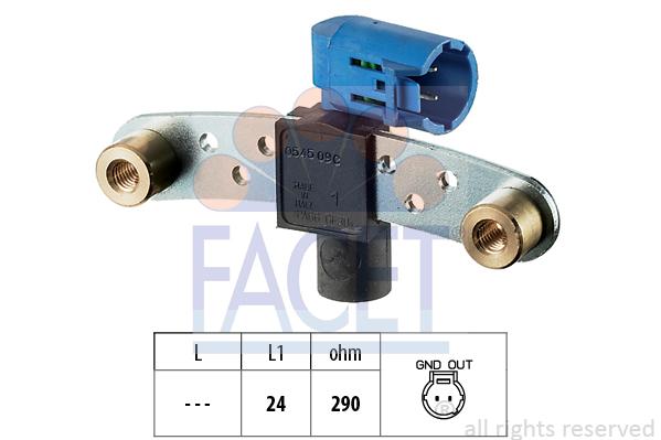 Capteur d'angle FACET 9.0545 (X1)