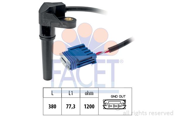 Capteurs/calculateurs/sondes FACET 9.0618 (X1)