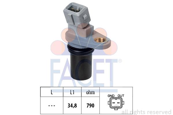 Capteur de regime FACET 9.0641 (X1)