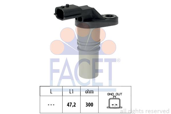 Capteur d'angle FACET 9.0646 (X1)