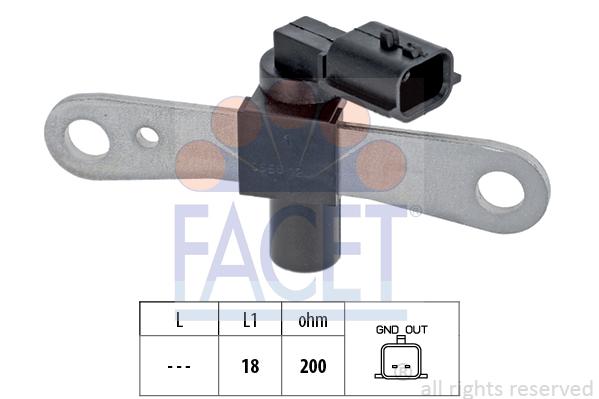 Capteur d'angle FACET 9.0658 (X1)
